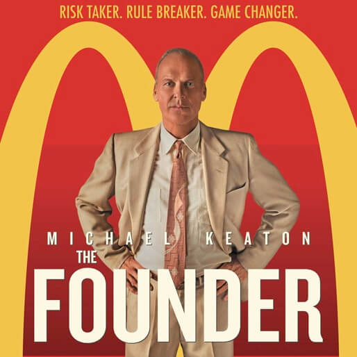 The Founder Poster Square